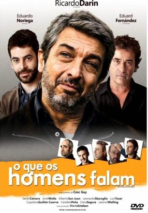 CAPA DO FILME OQUE OS HOMENS FALAM - JUNIOR DVDS DESIGNER